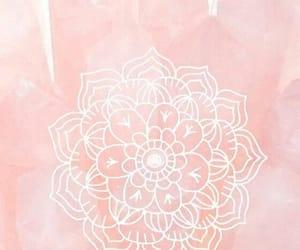 wallpaper, mandala, and pink image
