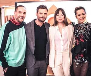 Jamie Dornan, dakota johnson, and liam payne image