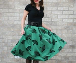 fashion, modcloth, and skirt image