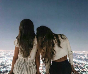 friendship, hair, and pretty image