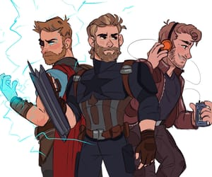 captain america, Marvel, and thor image