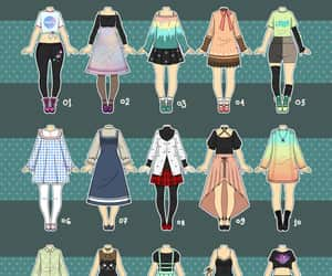art, deviantart, and outfit image