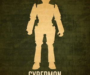 cyberman and doctor who image