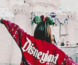 chic, red, and disneyland image