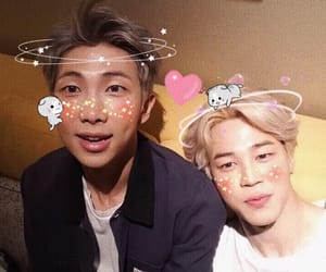 bts, jimin, and namjoon image