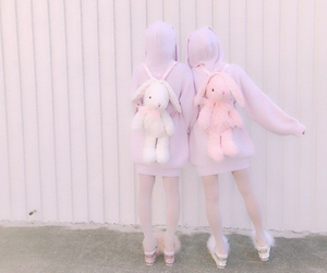 kawaii, cute outfit, and pastel aesthetic image