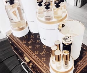 Louis Vuitton, perfume, and luxury image