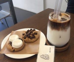 breakfast, Cookies, and milkshake image