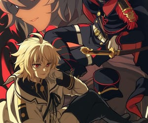 owari no seraph, seraph of the end, and anime image