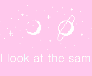 moon, aesthetic, and pastel image