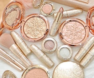 beauty, rose gold, and cosmetics image