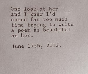 love, poem, and quotes image