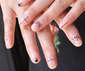 nail art, nails, and nail unistella image