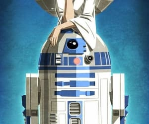 r2d2, rebel, and star wars image