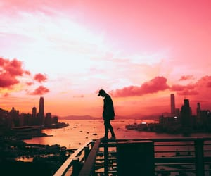 boy and city image