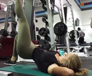 fitness, booty workout, and gym image