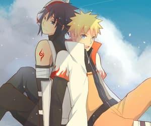 naruto, sasuke uchiha, and naruto uzumaki image