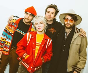 hayley williams, paramore, and zac farro image