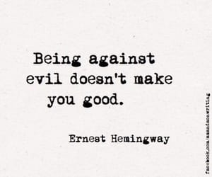 quotes, evil, and good image