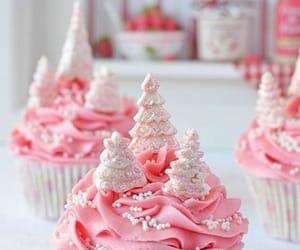 cupcake, pretty, and food image