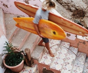 summer, aesthetic, and surf image