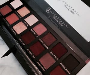 anastasia, beauty, and burgundy image