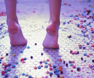 mysterious skin and feet image