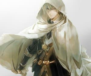 yellow hair, anime boy, and yamanbagiri kunihiro image