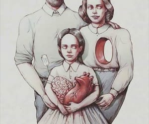 family, heart, and brain image