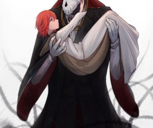 anime and the ancient magus bride image