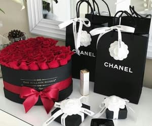chanel, fashion, and rose image