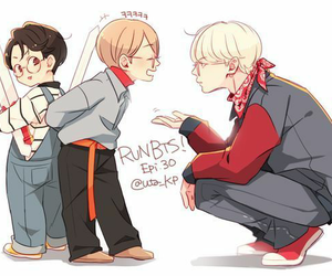 bts, fanart, and suga image