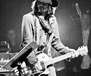 johnny depp, actor, and guitar image