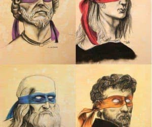 donatello, Leonardo, and funny image