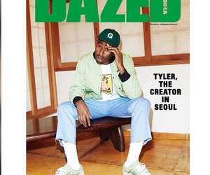 tyler the creator, golf wang, and dazed magzine image