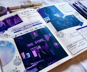 journal, cute, and bujo image