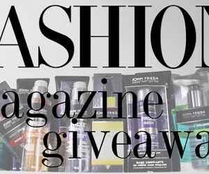 fashion magazine, giveaway, and canadian blogger image
