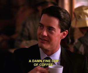 Twin Peaks, coffee, and quotes image