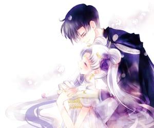 anime, princess serenity, and sailor moon crystal image