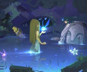 the legend of zelda, zelda, and breath of the wild image