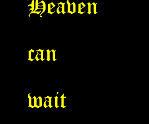 font, goth, and heaven image