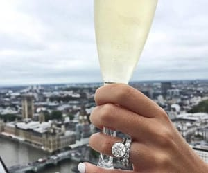 champagne, lifestyle, and style image