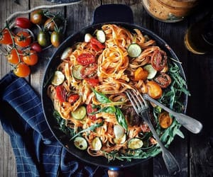 food, nourriture, and pasta image