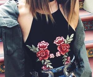 rose, fashion, and tumblr image
