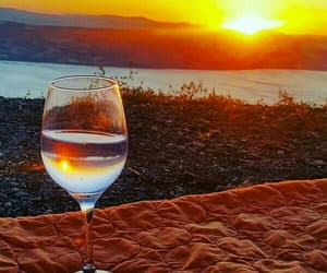 beautiful, relaxing, and sunset image