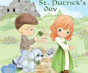 precious moments, cute, and st patrick's day image