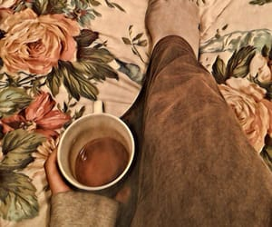 artistic, cozy, and cup of tea image
