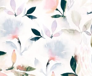 background, iphone, and floral image
