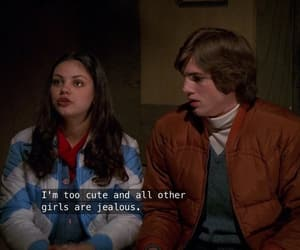 that 70s show, aesthetic, and couple image