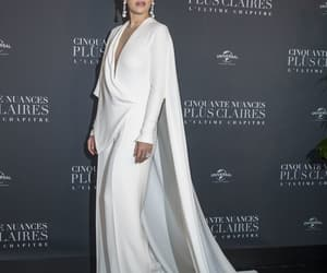 belleza, blanco, and moda image